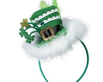 St Patrick's Day Headband/hat