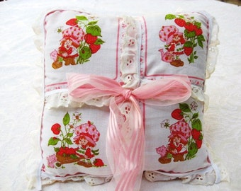 Strawberry Doll  Novelty Pillow / 4 Styles / Listing for 1 / women / teens / girls / home &  living / pillow decoration / doll pillow