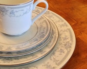 "Sheffield ""Blue Whisper"" 5-piece Place Setting"