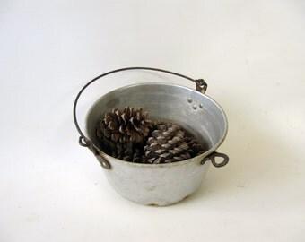 Vintage Metal Cooking Pot