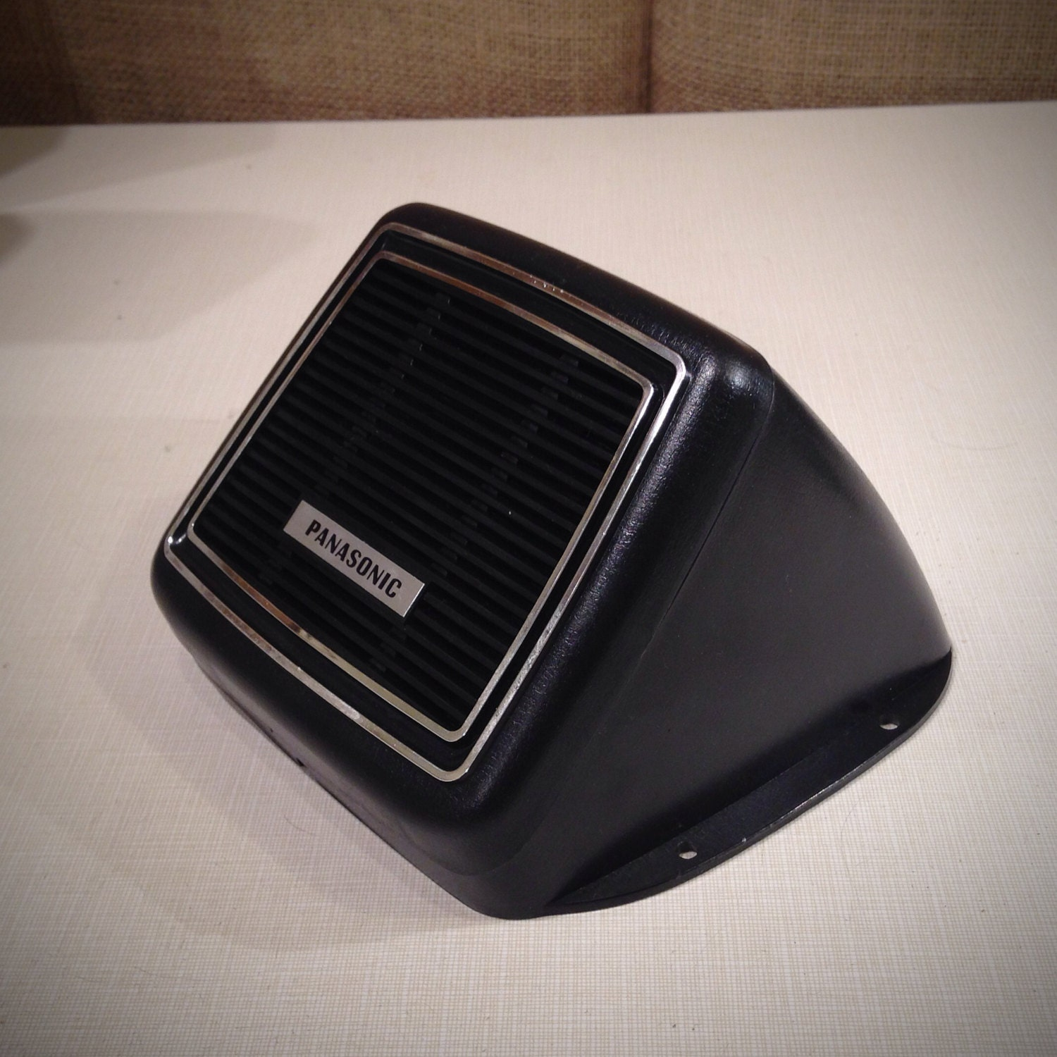 vintage panasonic speaker auto accessory for by williamchas. Black Bedroom Furniture Sets. Home Design Ideas