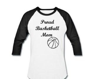 Proud Basketball mom shirt