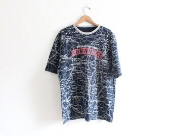Arkansas Map T Shirt