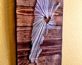 15x15- Country String Art - Argentina - home decor - wall hanging