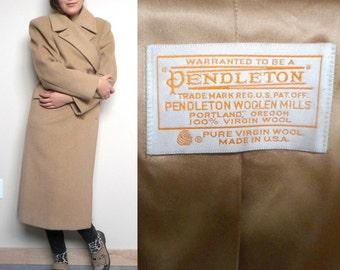 Beautiful Vintage Pendleton Wool Trench (Women's 18)