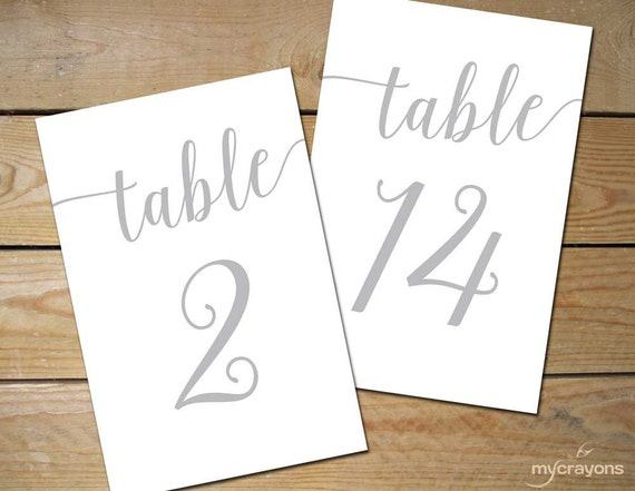 Silver Wedding Table Numbers 130 Instant By Mycrayonsdesign. Resume Template For Word. Graduate School For Psychology. Ucr Graduate School Of Education. Halloween Party Invitations Template. Payment Tracker Excel Template. General Service Agreement Template. Boston University Graduate Programs. Wedding Vendors List Template