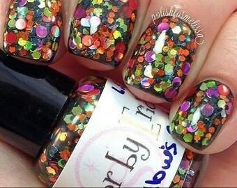 All Hallows Eve handmade artisan nail polish