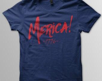 Merica! V2 Print on American Apparel 2001