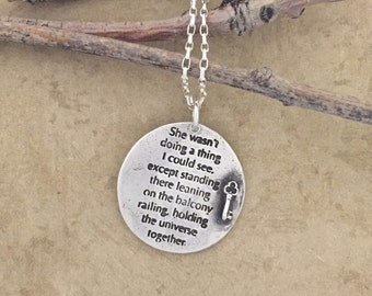 A Girl I Knew necklace