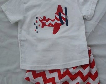 4th of July Boys Outfit ***LAST ONE*** 12 months*sale