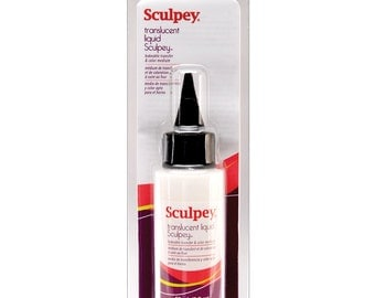 sculpey, translucent liquid clay can be users as a transfer & color medium 2oz