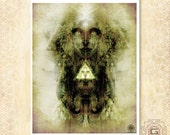Spirit Bird - art prints / spirtual / enlightenment / bird / soul /