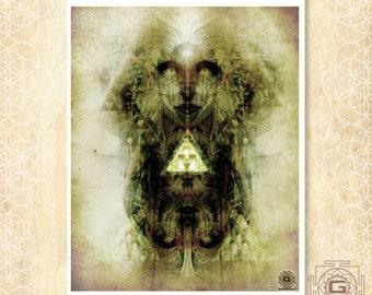 Spirit Bird - art prints / spirtual / enlightenment / bird / soul /