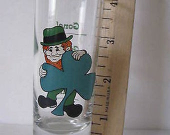 "Souvenir 4"" Shot Glass Leprechaun CL26-11"