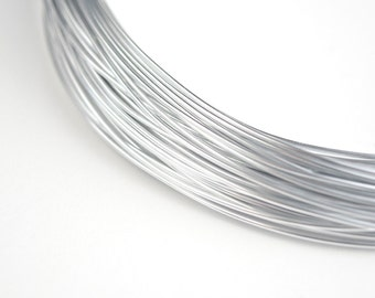 Aluminum Wire Silver Color 20 Gauge 0.8mm  - 20 meters