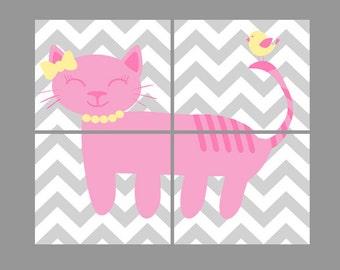 Cat Wall Art cat wall art | etsy