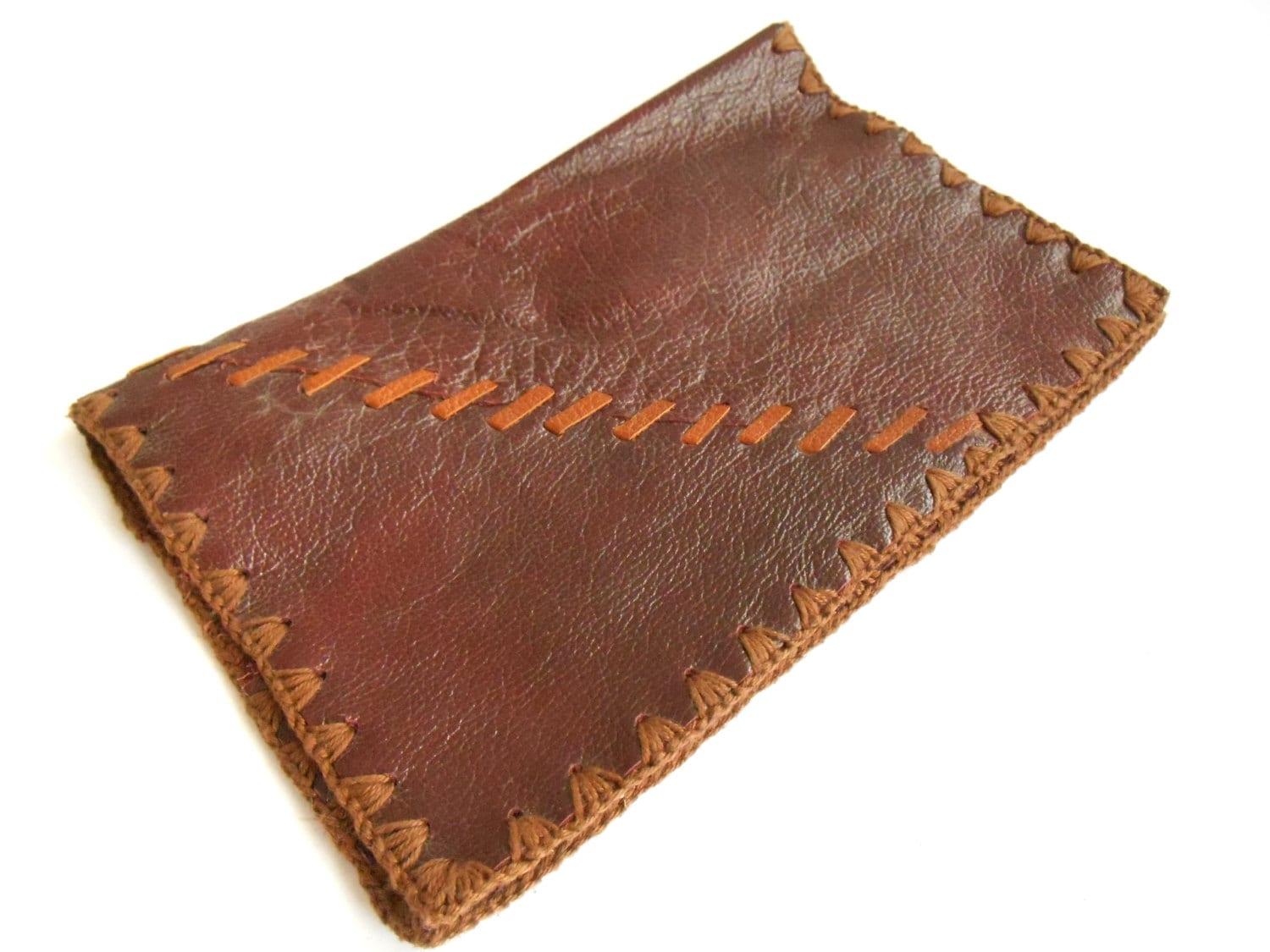 Vintage Leather Book Cover : Vintage leather book covers dark red soft
