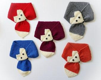 Knit / Wool Fox Neck Warmer (Please read AVAILABILITY)