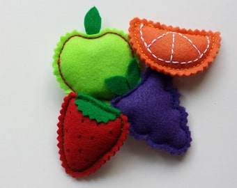 Fruit Salad Kitty Catnip Pack - Hand-Stitched Catnip Toys