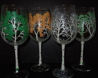 Set of 2 aspen wine glasses