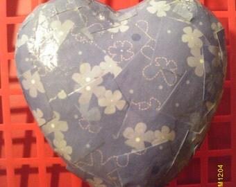 Cute Valentine Heart Paper Mache Wall Hanging