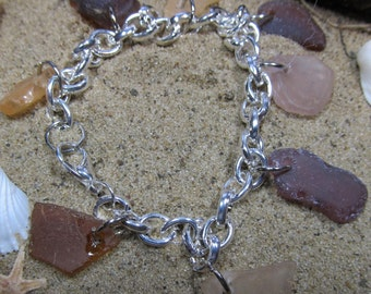 Brown and Shades of Brown Bracelet