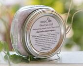 Dead Sea Salt Moisturizing Body Scrub, valentines day gift, bath scrub, hand scrub, salt scrub, Detoxify, Anti Inflammatory, skin care