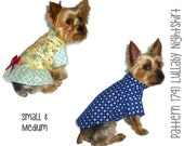 Lullaby Dog Pajamas Pattern 1741 * Small & Medium * Dog Clothes Sewing Pattern * Dog PJs * Dog Clothes Patterns * Dog Apparel * Dog Shirt