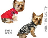 Dog Tank Top Pattern 1719 * Small & Medium * Dog Clothes Sewing Pattern * Dog Clothing Pattern * Dog Shirt Pattern * Pet Clothes Pattern