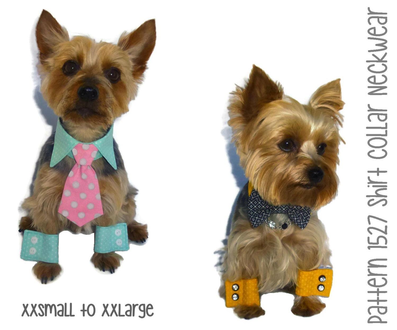 Dog Shirt Collar Amp Dog Cuff Pattern 1527 By Sofiandfriends