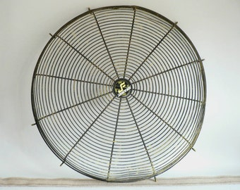 Large Industrial Fan Cage