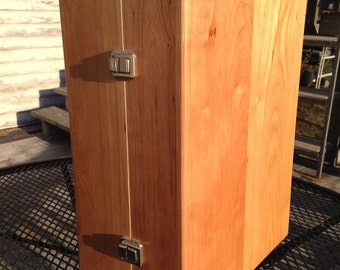 Solid Wood Cherry Boxes, High End, Custom and Handmade, hinges, handles and latches.  MANY USES