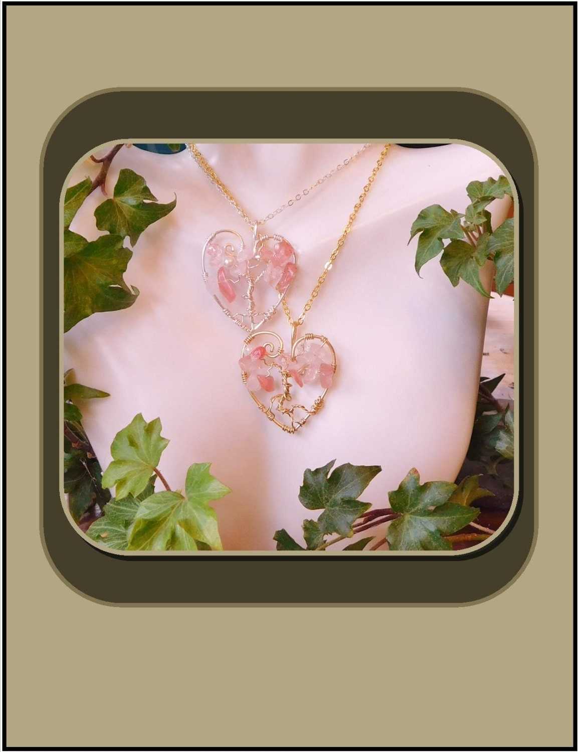 Breast cancer awareness tree of life cancer survivor for Breastmilk jewelry tree of life