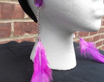 feather earring fontaine