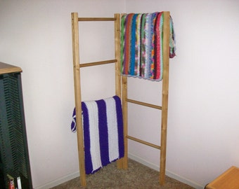 Corner / Quilt / Blanket / Ladder Display Rack, Lower Priced Until 2/28/2016!