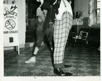 Clown circus performance vintage photo