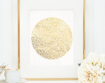 Poster Print 8x0 or 11x14 - Inca Sun - For Your Home Decor