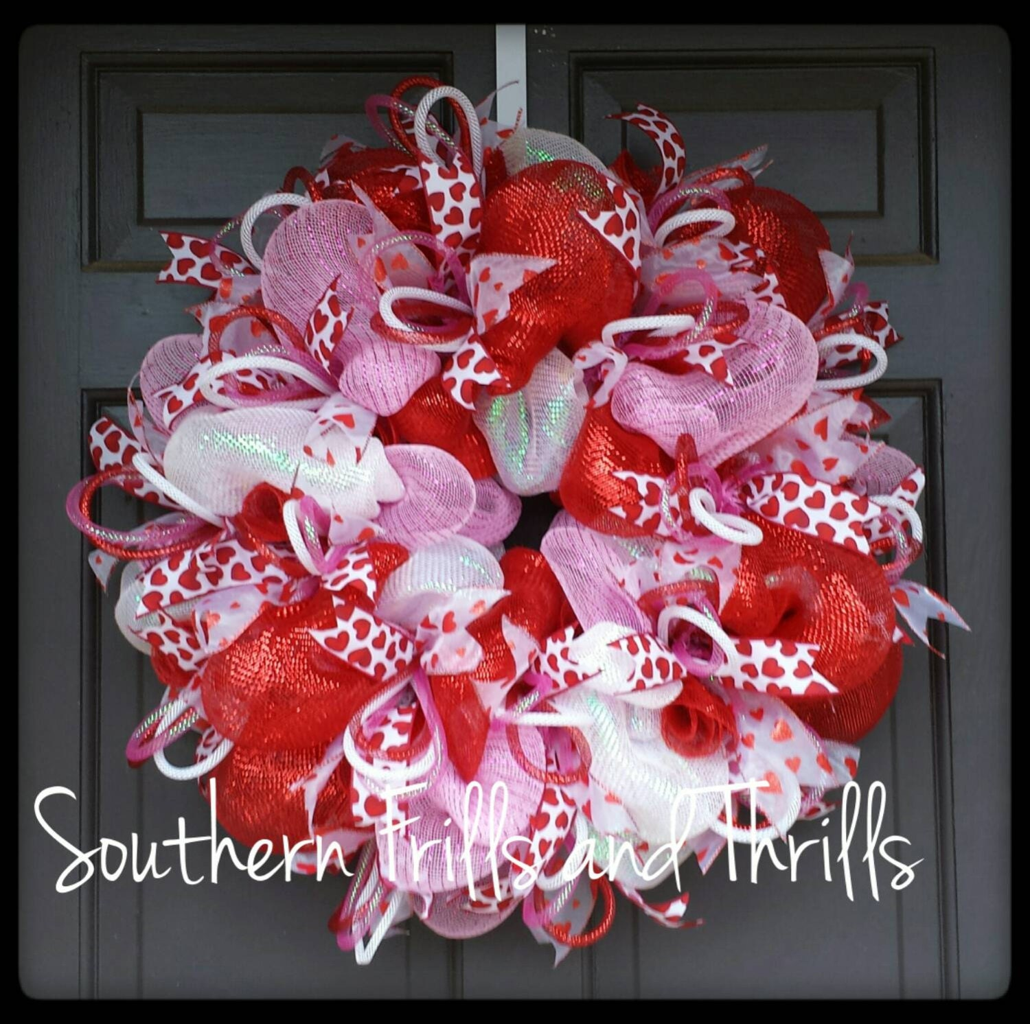Valentine's Day Wreath Valentine's Day Decor