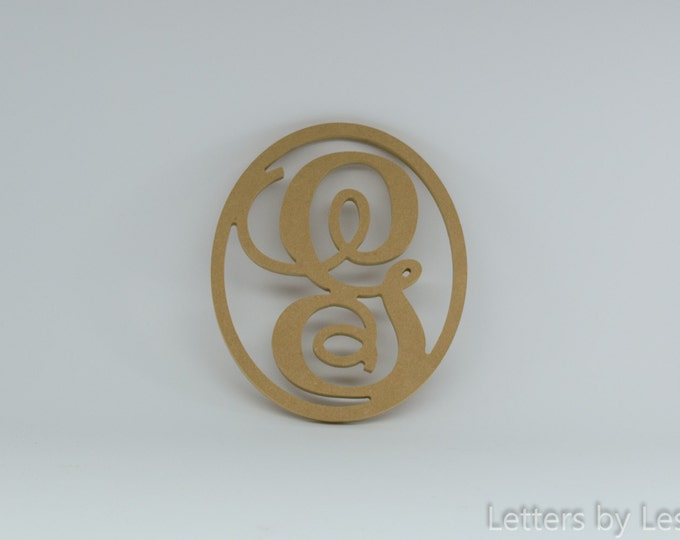 Unpainted Wooden Monogram, Unfinished Wall Monogram. Wooden Monogram Initial