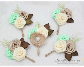 Mint Nude Ivory