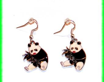Super Cute Panda Bear Earrings