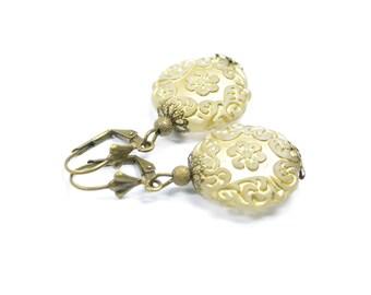 Earrings golden Dream