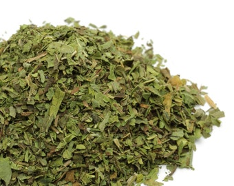 Dried Peppermint Leaf, Organic USA GROWN, Mentha Piperita Loose Mint Tea Herb Bulk Wholesale // 8oz 1lb 2lb 3lb 4lb 5lb 6lb 7lb 8lb 9lb 10lb