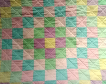 Baby Quilt- Trip Around the World