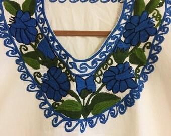 Blue Ethnic Shirt!
