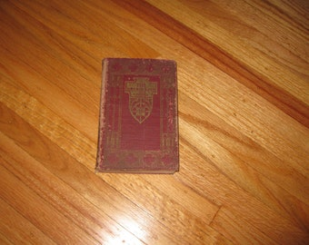THE DEERSLAYER James Fenimore Cooper Hardcover 246 Pages No Copyright Date Kingsport Press