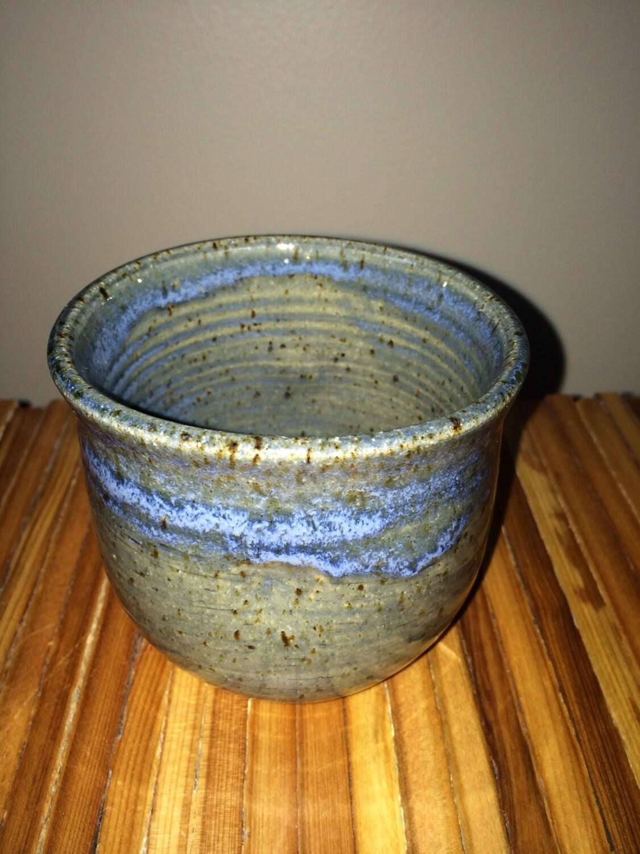 Ceramic cylinder handleless cup 9 oz short mug coffee or - Handleless coffee mugs ...