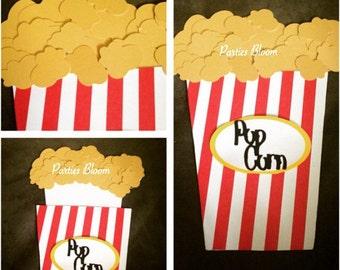 Movie Party/Popcorn Box Invitation