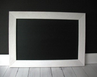White FRAMED CHALKBOARD Magnetic Barn Wood Rustic BARNWOOD Large Wedding Sign Kitchen Blackboard Photo Restaurant Menu Chalk Board Markers