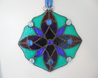 Stained Glass Sunburst